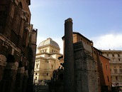 Rome Synagogue and Marcellus Theatre