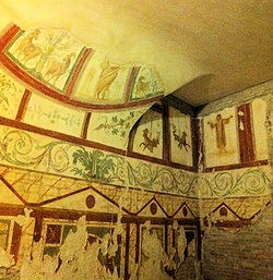 Roman House Frescoes